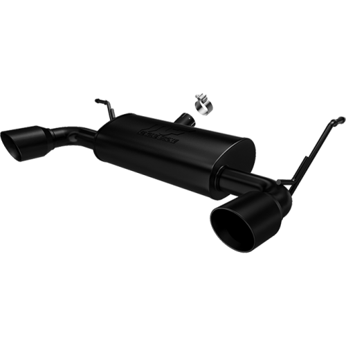 """Magnaflow Performance """"Black Series"""" Axle Back Exhaust System for 2007-2018 Jeep Wrangler JK with 3.6L/3.8L"""