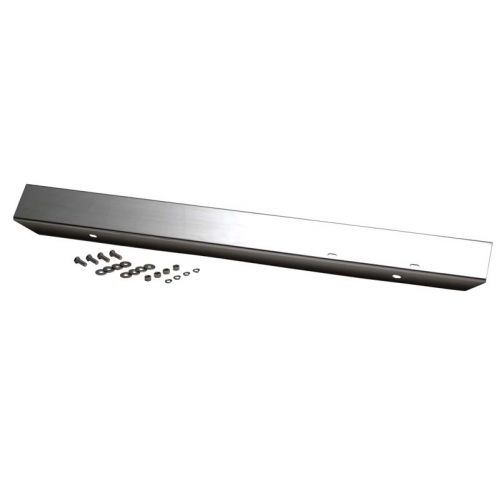 """42"""" Front Bumper w/o Holes Polished Stainless Steel for 1945-1986 Jeep CJ"""