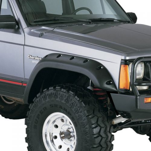 """Fender Flare Cut-Out Style Kit Adds Up to 5"""" Tire Coverage; 1984-2001 Jeep Cherokee XJ w/ 4 Door Model"""