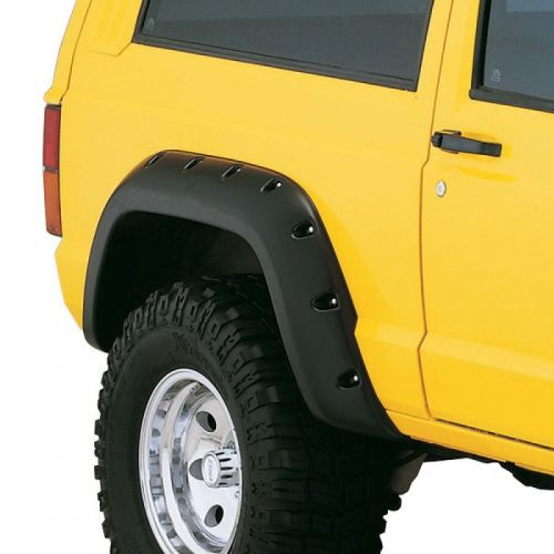 """Fender Flare Cut-Out Style Kit Adds Up to 5"""" Tire Coverage; 1984-2001 Jeep Cherokee XJ w/ 2 Door Model"""