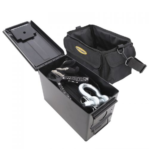 .50 Cal Ammo Can & Storage Bag Black